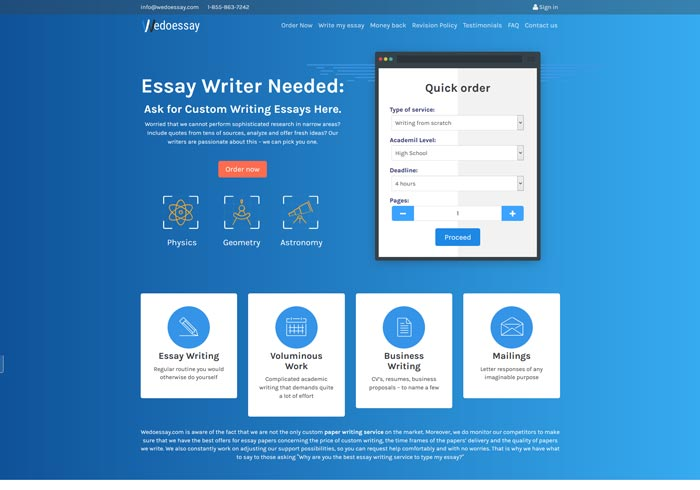 Wedoessay.com preview